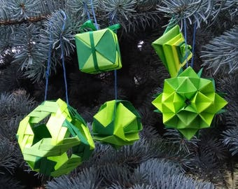 DIY Modular Spiral-Origami Spiral Star Instructions-Christmas ... | 270x340