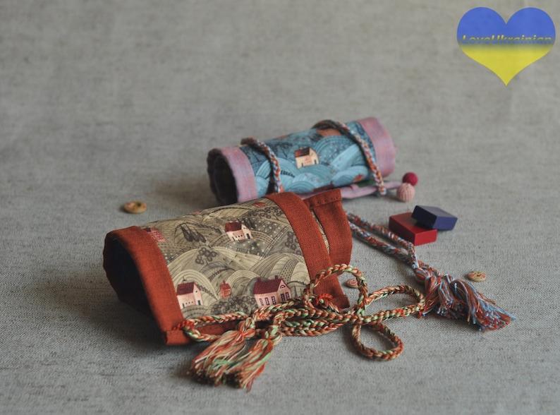 Waldorf Crayon Roll Crayon Rollup Crayon Keeper Stiftem\u00e4ppchen Crayon Holder Crayon Organizer Crayon Wallet Montessori School
