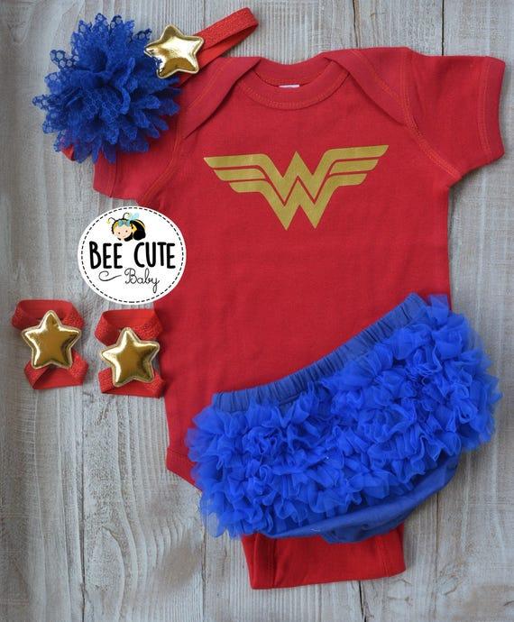 Wonder Women Logo Infant Onesie Size 24 Mos Infant
