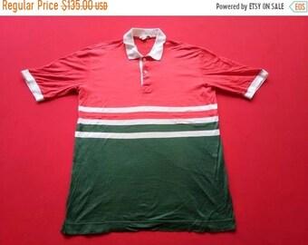 ffb15bec0 vintage Gucci italy polo multicolour medium mens shirt