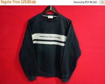 fc7d7562753 vintage Sergio tacchini sweatshirt large mens