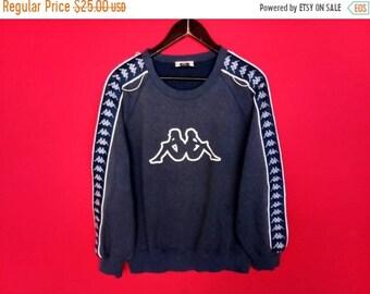 7d486436e8f4 vintage kappa side tape sweatshirt large mens
