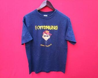 618ea15ffa25 vintage The Offspring rock band music concert 90s medium t shirt