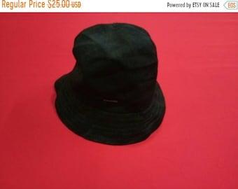 53143a91 vintage kangol bucket cap hat black colour large mens