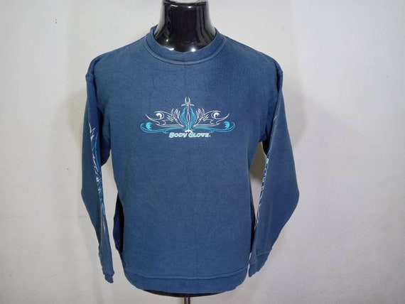 vintage Body glove sweatshirt mens
