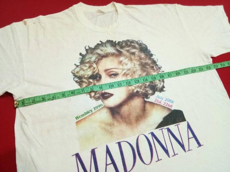 vintage Madonna singer tour 90s xlarge mens t shirt