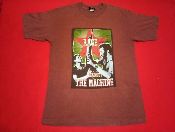 vintage Rage Against the machine band 90s music co