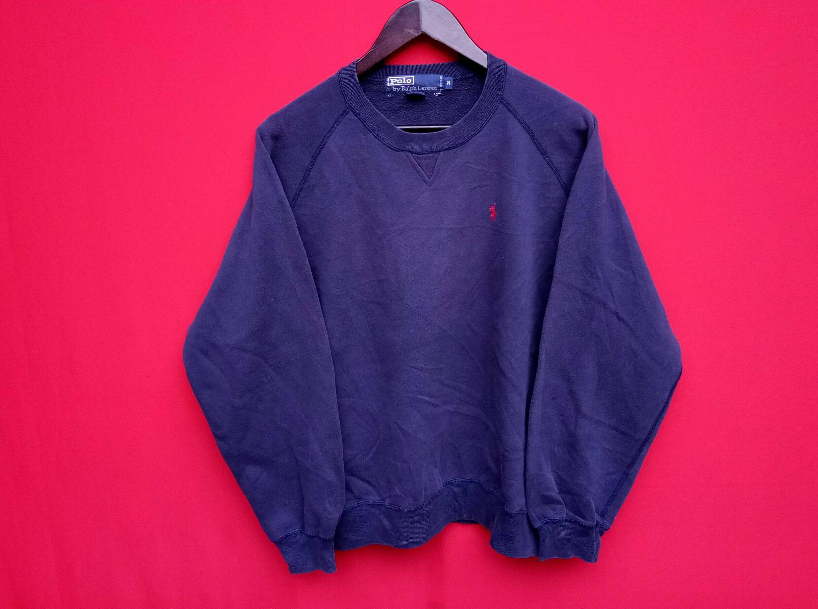 fbb62e166 ... zip hoodie originally for depop 8fad0 8eb32  sale vintage ralph lauren  sweatshirt medium mens size etsy d7ad4 74db0