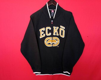 vintage ecko sweatshirt jacket fully zipper large mens size