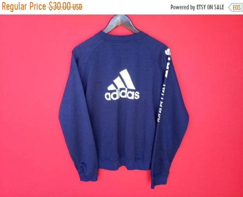 retro bienes de conveniencia atractivo y duradero Men's Clothing Hoodies & Sweatshirts vintage Adidas big logo ...