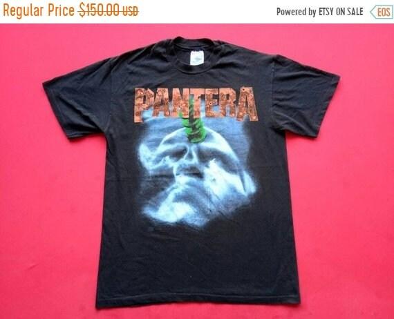 10 % groupe vintage Pantera groupe % musique métal des années 90 grands hommes t-shirt 82bfd6