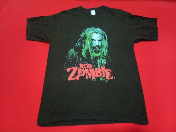 vintage Rob zombie music concert movie medium mens