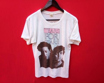 vintage tears for fears band indie rock concert small size