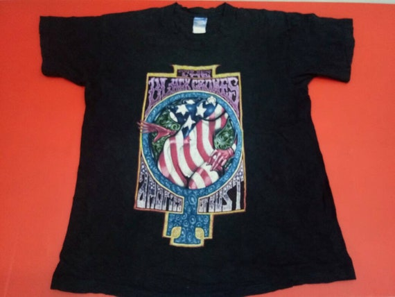 vintage The Black Crowes 90s band home of the free