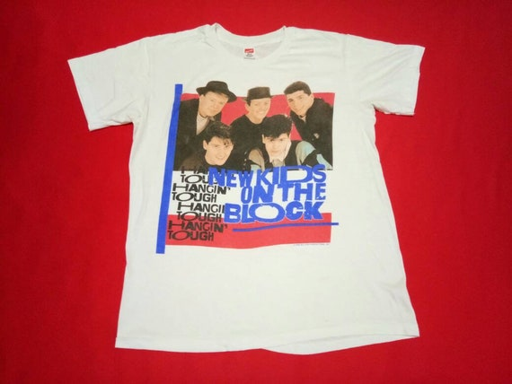 vintage New kids on the blocks hip hop band music