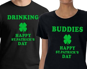 St. Patrick's Day, St. Patrick's Day Tshirt, Drinking Partner, Funny St. Patrick's Couples Shirt, Matching Couple Shirts, Irish Holidays
