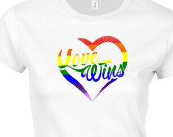 Gay Pride, LGBT, Gay Shirt, Lesbian Shirt, Love Wins, Proud Gay Tshirt, Proud Lesbian Tshirt, LGBT Shirt