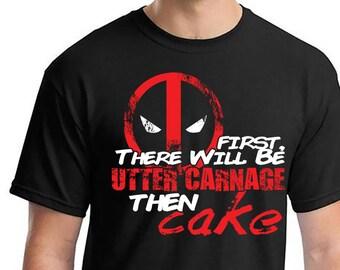 Deadpool, Deadpool Shirts, Utter Carnage, Deadpool Marvel Shirts, Deadpool Tshirts, Deadpool Marvel Shirts