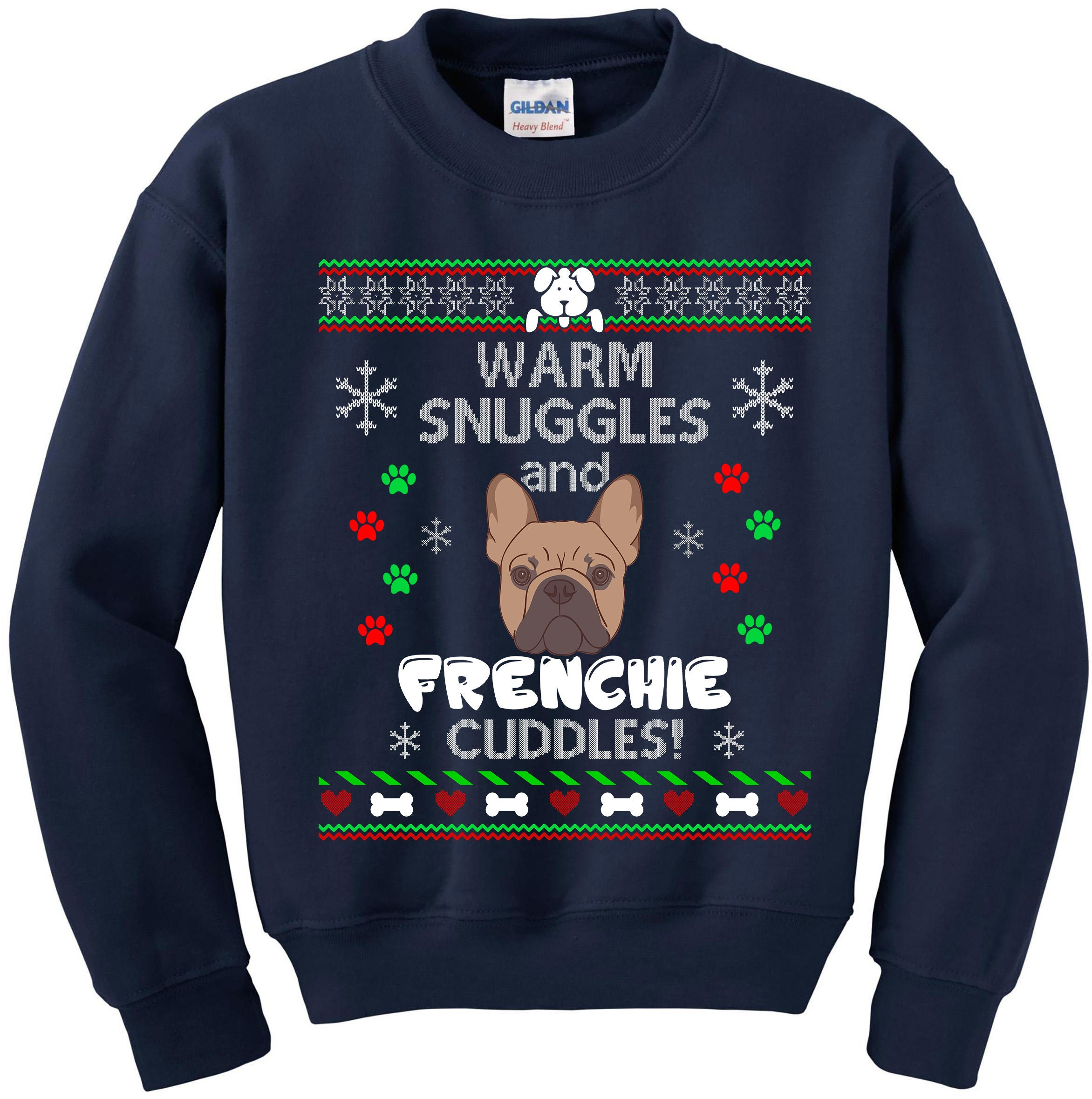 Ugly Christmas Sweater Ugly Sweater Party Frenchie Dog Ugly | Etsy