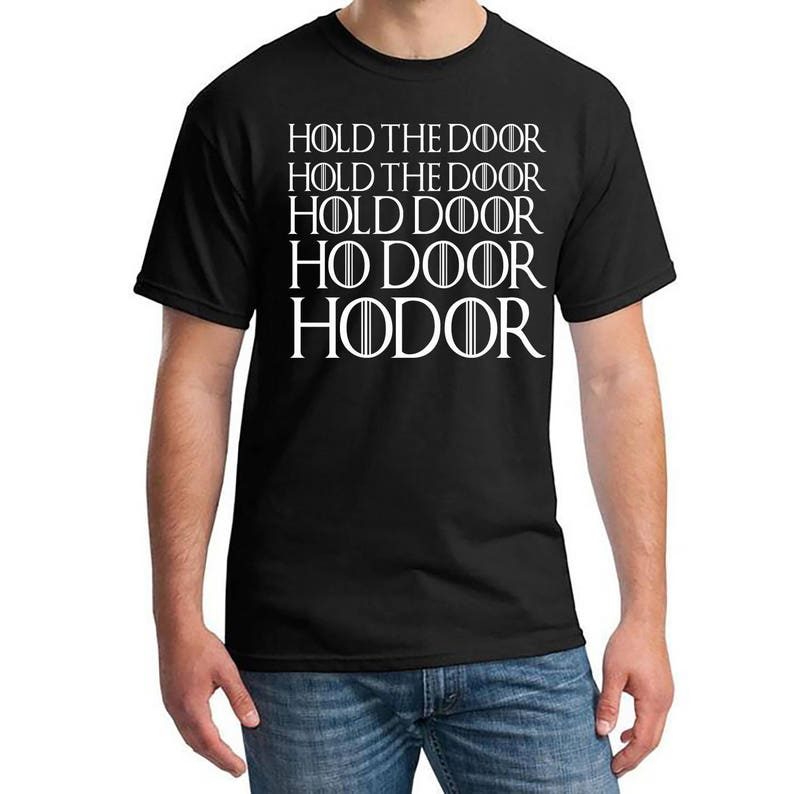 What Would Hodor Do T-Shirt with Hodor Packaging Game of Thrones Stark