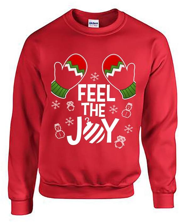 image 0 - Feel The Joy Christmas Sweater