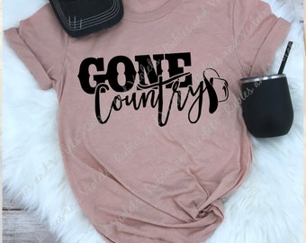 Country Girl Shirt  Gone Country  Shirt Country Concert Shirt Rodeo Shirt Girl s  Night Out Line Dancing 1107a5a59