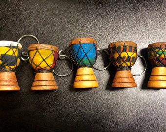 Djembe / African Drum Keychain