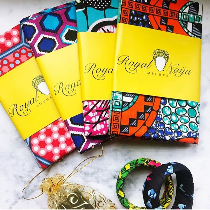 African Head Wrap 8 piece bundle  Great for Christmas / image 0