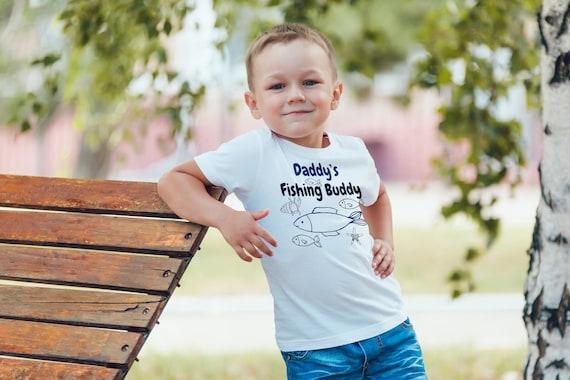 Funny Gift Birthday Awesome Tee Daddy Little Fishing Buddy Zip Hooded Sweatshirt