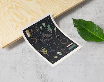 Earth Witch Starter Kit - Printable Wall Art, Printable Art, Art Print