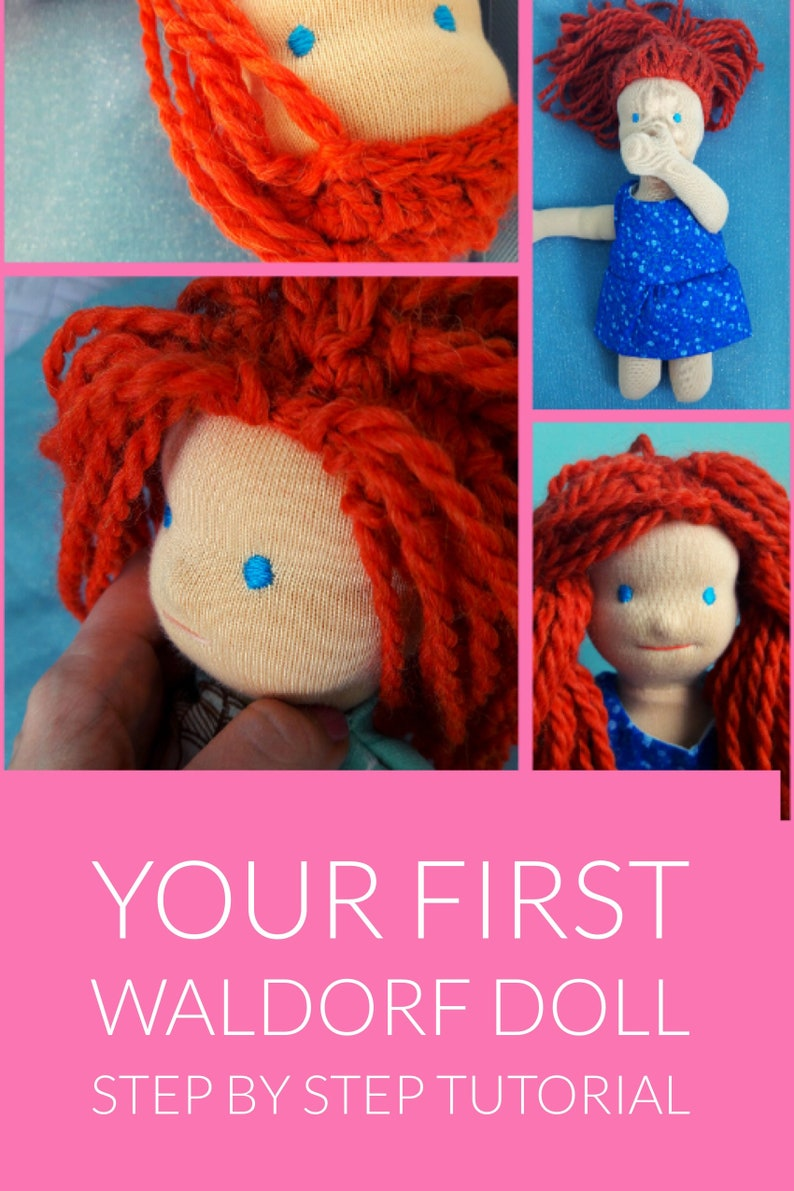 how to make a waldorf doll step by step tutorial waldorf doll image 0
