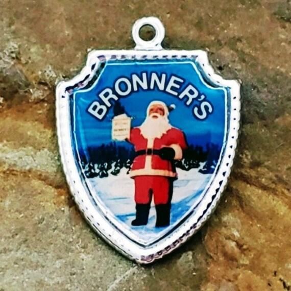 Vintage Bronner's Charm, Sterling Silver Bronner's