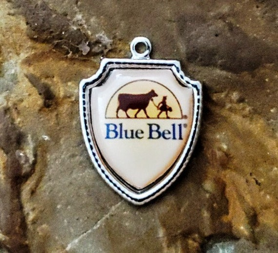 Vintage Blue Bell Charm