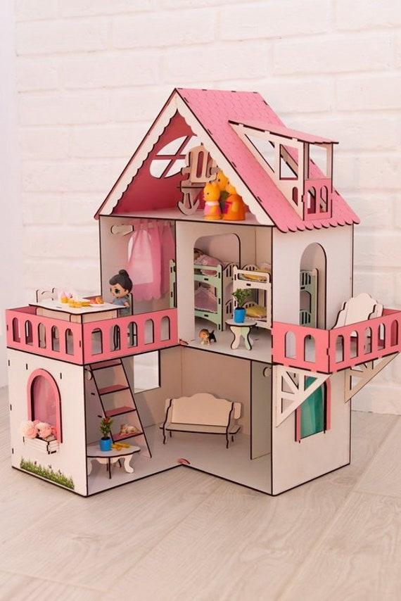 Lol Surprise Dollhouse Wooden Kit Furniture Etsy