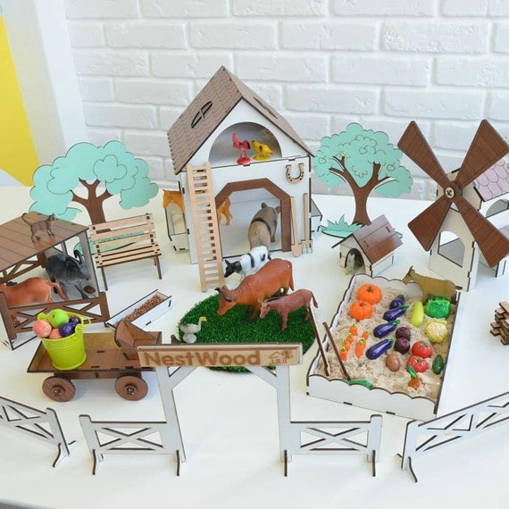 Lol Surprise Wooden Farm Set Etsy