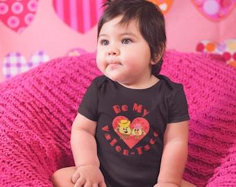 Valentines Infant BodySuit, Taco Baby Romper, Valen-Taco , Baby Bodysuit, Valentines Day Romper, Valentines Day Baby Gift, Baby Shower