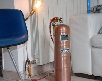 Floor lamp industrial MURATORI of PARIS IOTA.6 sprayer