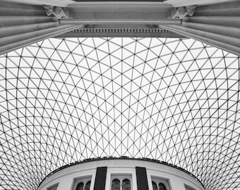 British Museum - old and new