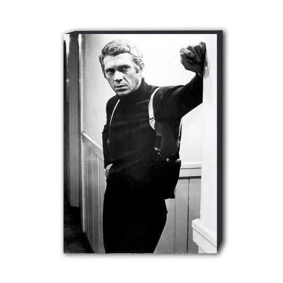 A3 A4 sizes A1 A2 Bullitt Vintage Movie Steve McQueen Giant Poster