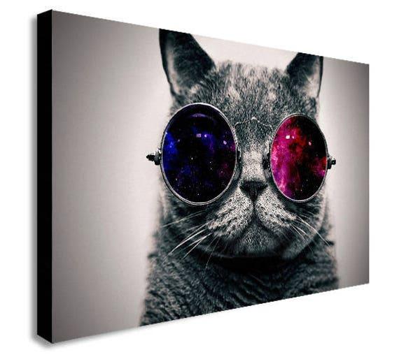 Mini Canvas Cool Cat