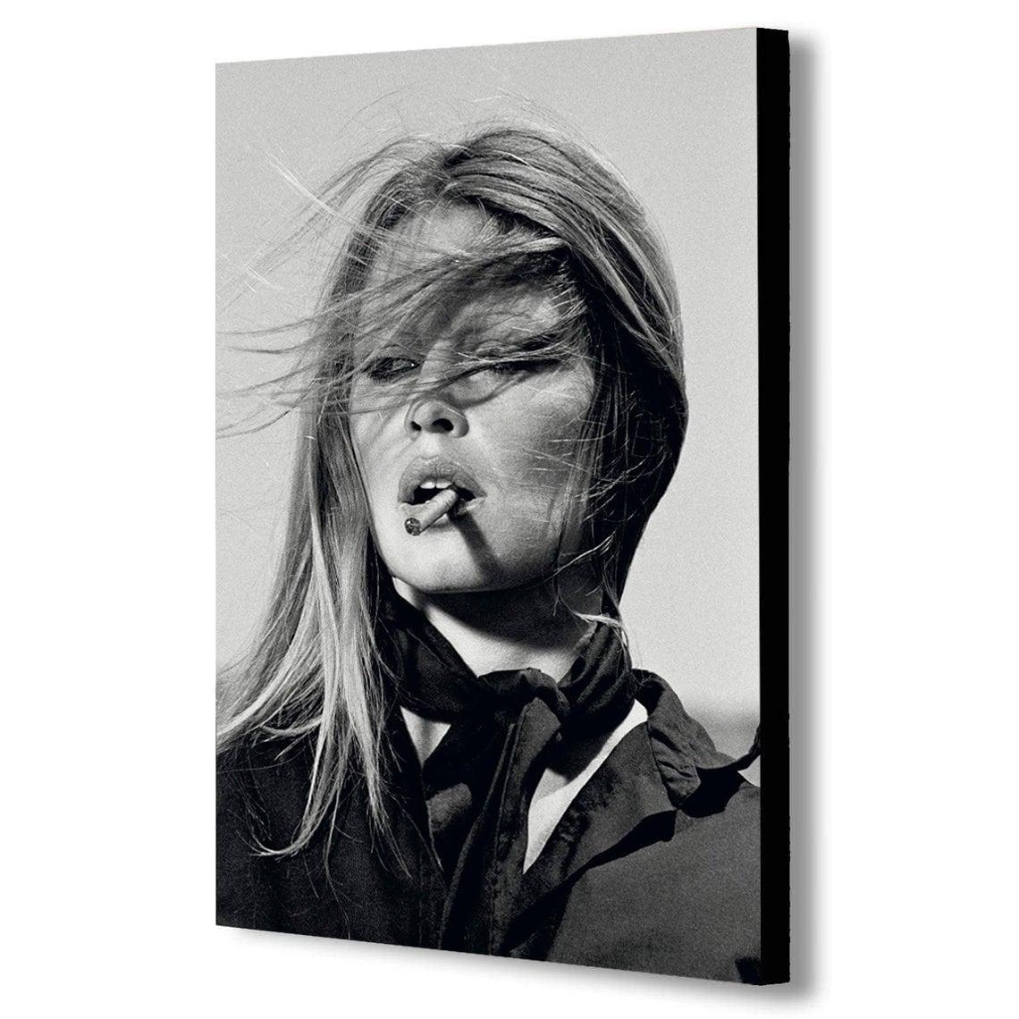 New York Canvas Wall Art Framed Print Marilyn Monroe Smoking Various Sizes