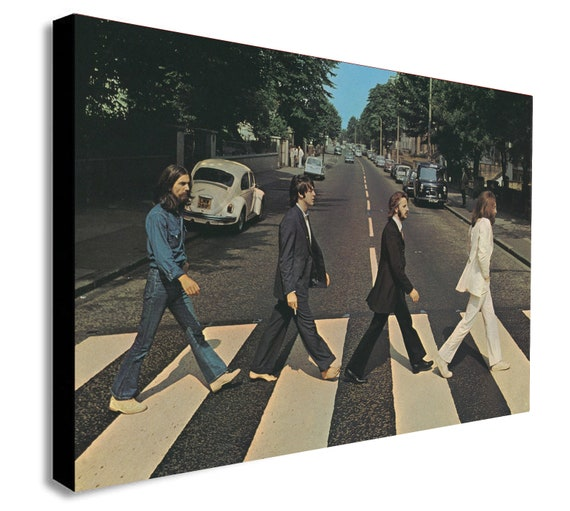 "FREE /""ABBEY ROAD/"" THE BEATLES WITH YOUR NAME  PERSONALIZED ON THE PRINT"