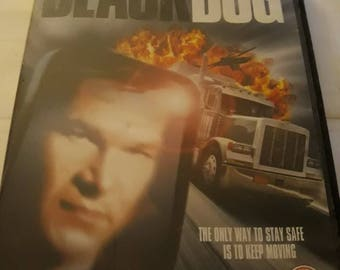 1998 Region 2 Dvd BlackDog With Patrick Swayze And Meatloaf