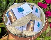 Pure alpaca white yarn