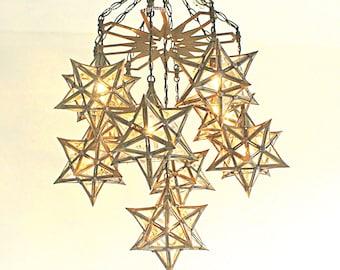Moravian star lamp | Etsy