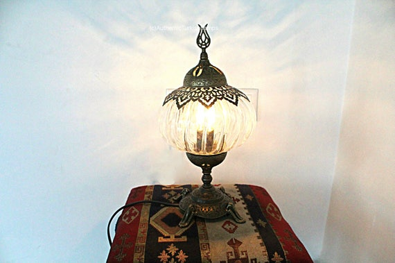 T rkische schreibtischlampe schreibtischleuchte etsy for Marokkanische tischlampe