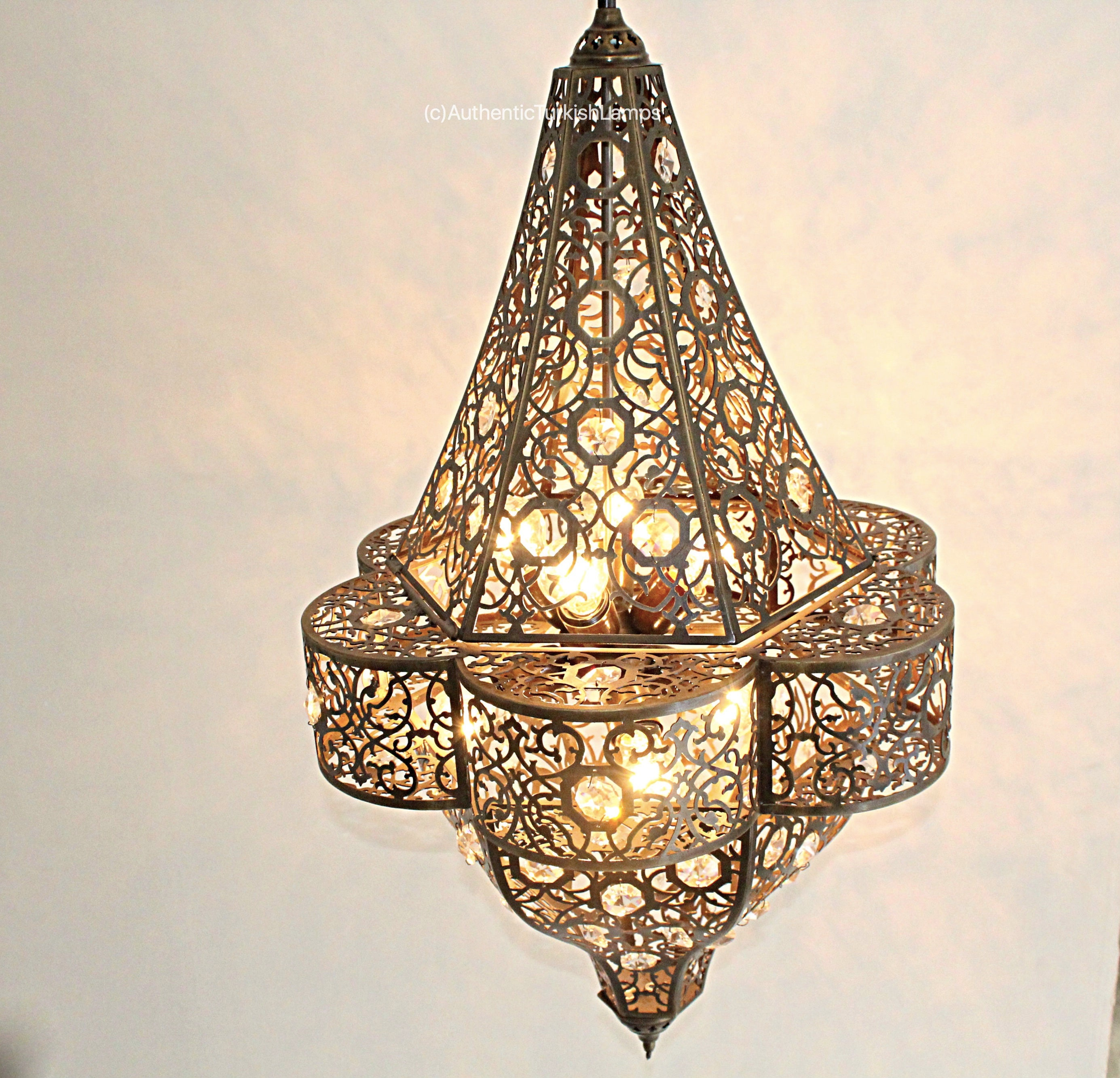 Hanging Lamp Moroccan: Hanging Lamp Hanging Light Moroccan Lightmoroccan