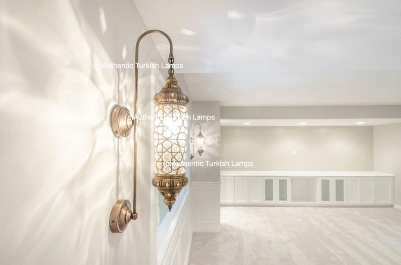 Lampada da parete applique applique in marocco marocco etsy