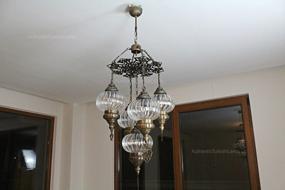 Prezzo del 50% brillantezza del colore Prezzo del 50% 5 Lampada lampadario in vetro, Lampadario, Marocco, Marocco illuminazione,  turca, lampada di Marocco, Lanterna di Marocco, Turchia lampada, luce di ...