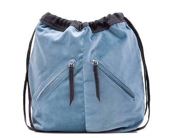 Backpack Nudo Velvet Blue
